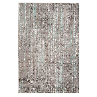 "3.93"" X5.57"" X 0.38"" Gray  Polyester Area Rug"