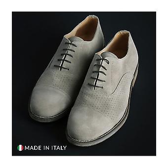SB 3012 - Shoes - Lace-up shoes - 1003-CAMOSCIO-B-TORTORA - Men - wheat - EU 42