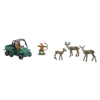 Playset de la caza salvaje, ciervos