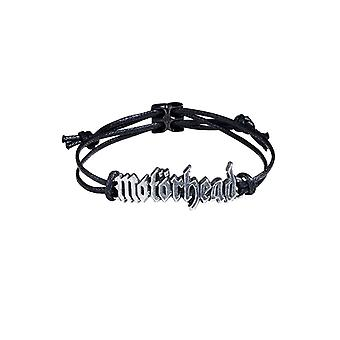 Motorhead Wristband Band Logo 3D sculpted pewter new Official Black