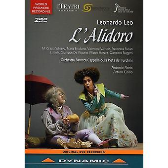 L. Leo - Alidoro Commedia in Musica [DVD] USA import