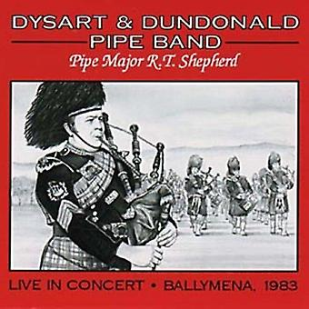 Dysart & Dundonald Pipe Band - Live in Concert-Ballymena '83 [CD] USA import
