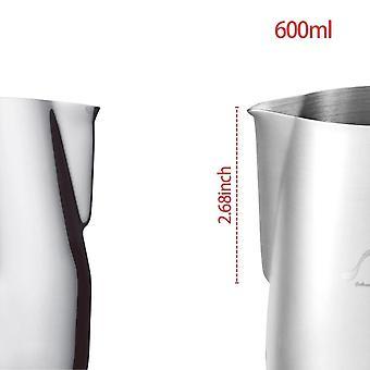 Mælk i rustfrit stål, flødeskumkande - Espresso Kaffe Barista Craft Latte