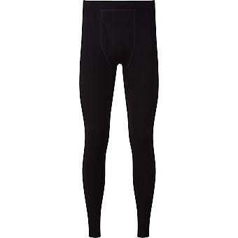 OEX Men's Barneo Base Leggings Graphite/Black/Chartrense