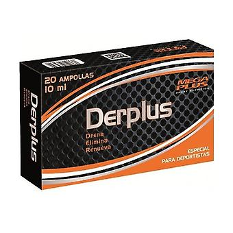 Derplus 20 ampoules of 10ml
