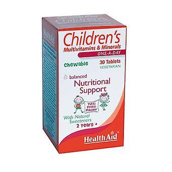 الأطفال's متعدد المغذيات 30 أقراص