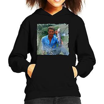 TV Times The Who Singer Roger Daltrey Fish Kid's Hooded Sweatshirt