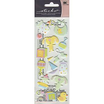 Sticko Dimensional Stickers-Baby Toys
