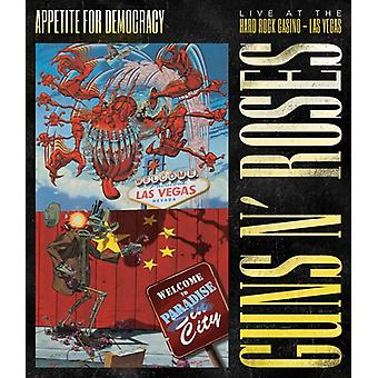 Guns N Roses - Appetite for Democracy : importation USA Live Hard Rock Las Vegas [DVD]