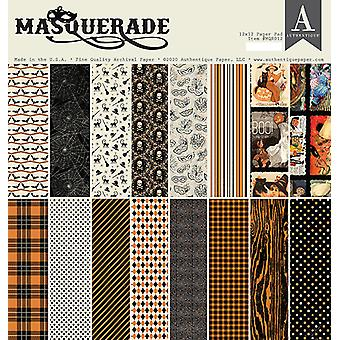 Authentique Masquerade 12x12 Inch Paper Pad