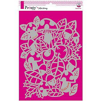 Pronty Crafts Otoño A4 Plantilla