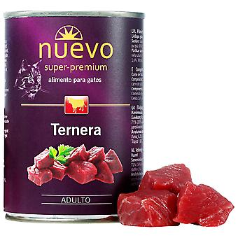 Nuevo Lata Adult Ternera (Cats , Cat Food , Wet Food)