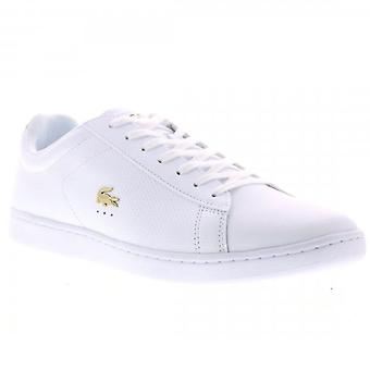 Lacoste Carnaby Evo 0120 White Leather Trainers