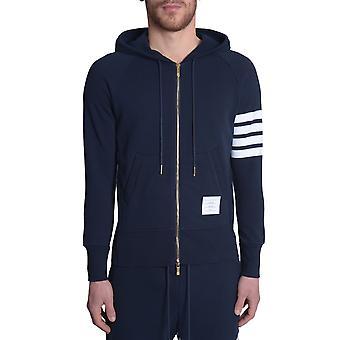 Thom Browne Mjt022h00535461 Men's Blue Cotton Sweatshirt