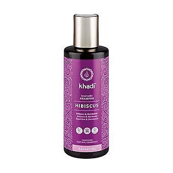 Hibiscus shampoo voor gevoelig haar 210 ml