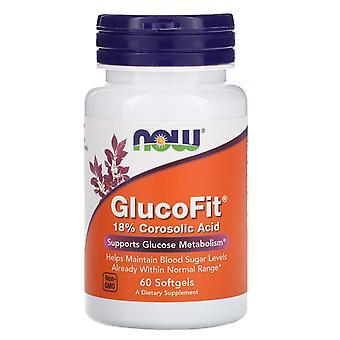 Jetzt Lebensmittel, GlucoFit, 60 Softgels