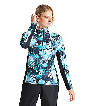 Durf 2b Womens Divulge Core Stretch Half Zip Sweater