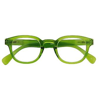 Reading glasses Unisex Montel green thickness +2,00