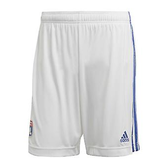 2020-2021 Olympique Lyon Adidas Home Shorts (Alb) - Copii