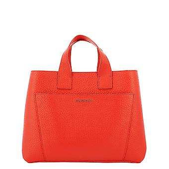 Orciani B02075softmarlboro Women's Red Leather Handtas