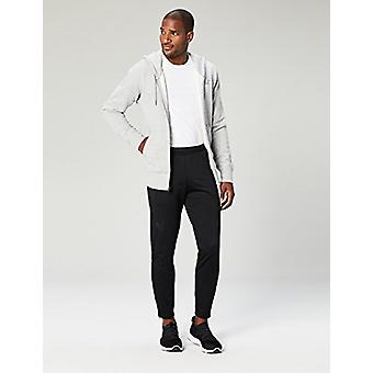 Peak Velocity Men's Trackster Athletic-Fit Pant, black/black, X-Large