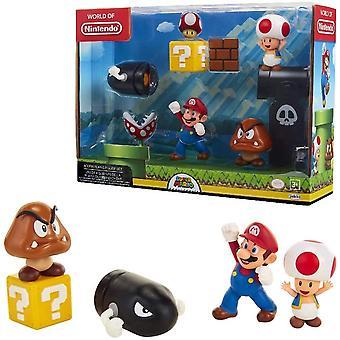 Super Mario 5-Pack Acorn Plains Multi-Pack Set Figures