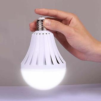Ampoule d'urgence intelligente led E27, Ac220v avec lampe rechargeable d'éclairage de batterie