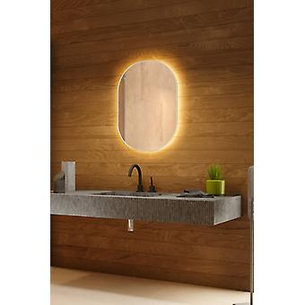 RGB k755 Backlit Mirror with Sensor, Demister and Shaver socket