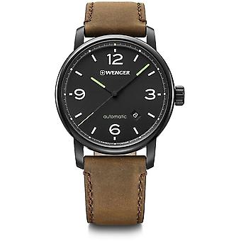 Wenger - Wristwatch - Men - Urban Metropolitan - 01.1746.102 - black, 42 mm