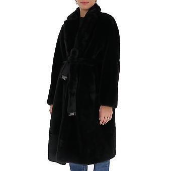 'S Max Mara 94560303600807003 Femmes-apos;s Manteau de laine noire