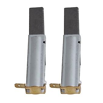 2 x Industrial Vacuum Cleaner Replacement Motor Brush 75x21x10mm