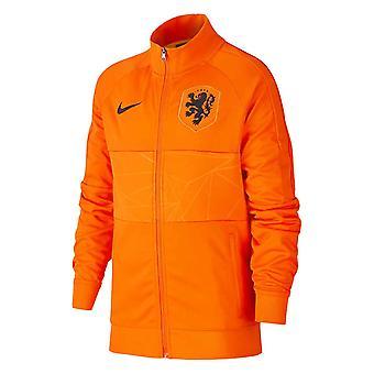 2020-2021 Holland Nike Anthem Jacket (arancione) - Bambini