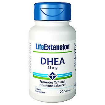 Extensão de Vida DHEA, 15 mgs, 100 caps