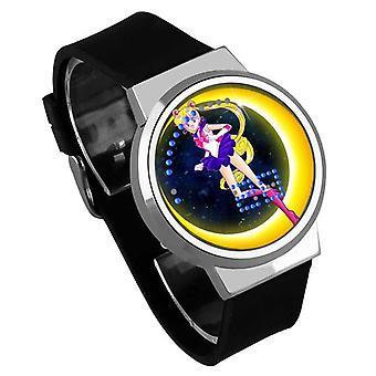 Impermeable Luminoso LED Digital Touch Reloj de niños - Sailor Moon #12
