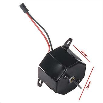 Fireplace Heat Powered Stove Fan Motor, Wood Burner Friendly Quiet Fan Motor