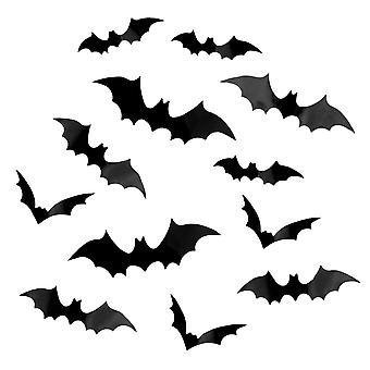 12x Bats, Decoration - Halloween
