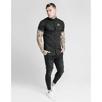 Novo SikSilk Men's Prestige Short Sleeve Shirt Preto