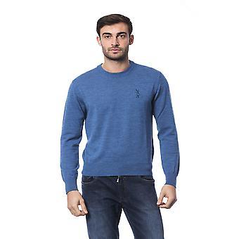 الملياردير الإيطالي كوتور أفيو الأزرق سترة طويلة الأكمام