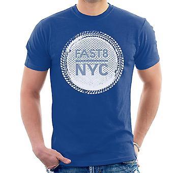 Nopea ja raivoisa nopea 8 NYC Men's T-paita