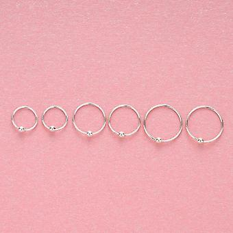 Sterling Sliver Ring, Women Earring, Character Joker Hoop Piercing, Nose Rings