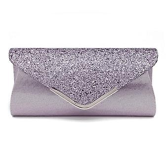 Women's Glitter Shimmer Envelope Ladies Sequins Evening Party Prom Smart Jane