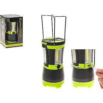 Summit Stormforce Rechargable Cob Lantern W/2 Detachable Torches for Camping Tent Outdoor