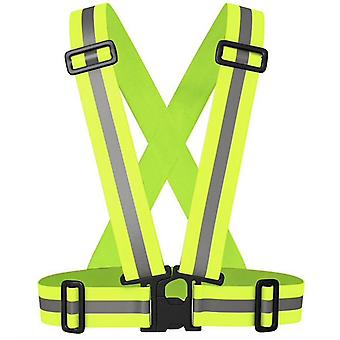 Reflective harness - Reflective vest - Yellow - Practical & Durable