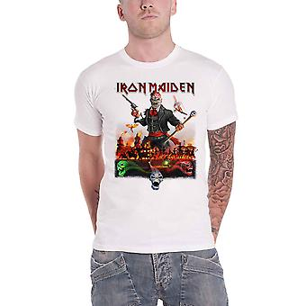 Iron Maiden T Shirt Legacy of the Beast Live In Mexico City Official Mens White
