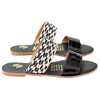 Flat Sandals Silvia Cobos Conga Black