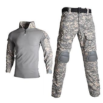 Tactical Camouflage Military Uniform Suit