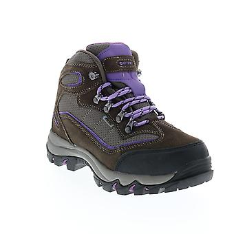 Hi-Tec Skamania WP  Womens Gray Leather Lace Up Hiking Boots