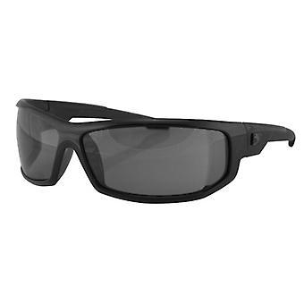 Balboa EAXL001 cadre noir AXL lunettes de soleil - anti-buée fumaient lentille