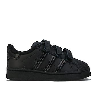 Boy's adidas Originals Infant Superstar Trainers in Black