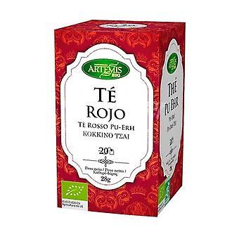 Pu Erh Red Tea Infusion Bio 20 units